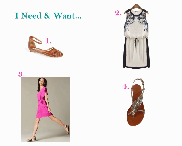 needs and wants, shopping, online shopping, summer, summer shopping, dresses, sandals, summer dresses, outfit,
